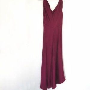 Jones New York 100% Silk Asymmetrical Dress